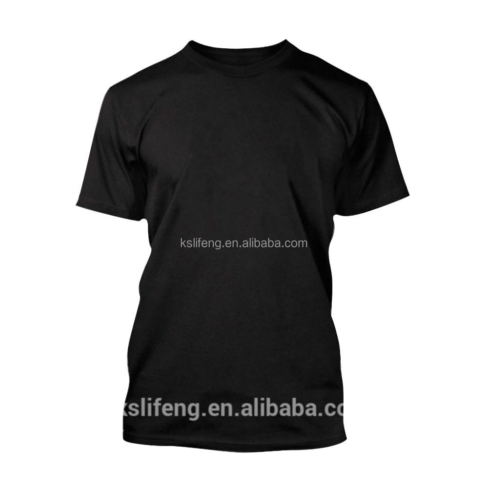 Custom t shirt printing black t shirt blank t shirt buy for Custom tee shirt printing