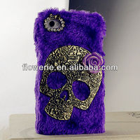 FL2856 2013 Guangzhou hot selling bling diamond crystal skull phone case for iphone 5