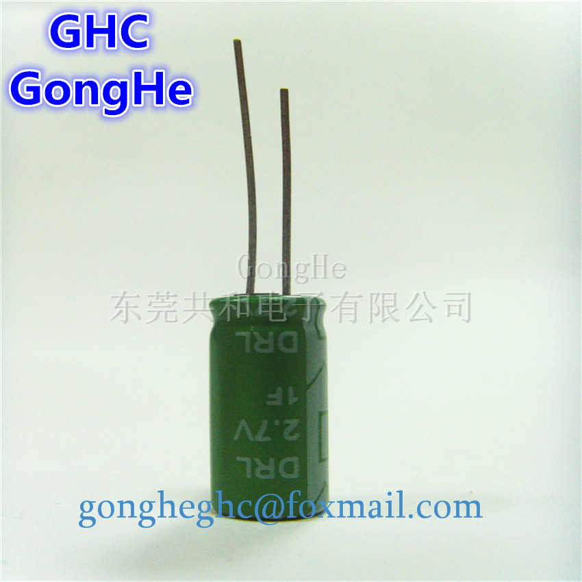 Best <strong>Price</strong> 2.7v1f machine with 2.7v1f super condenser 2.7v1.5f Manufacturer Stock farad Capacitor