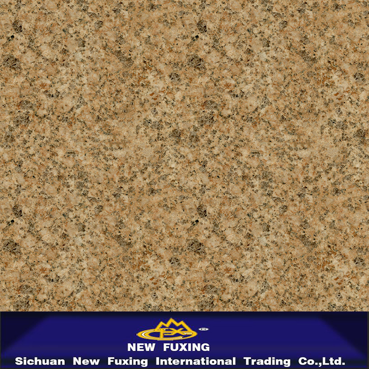 tropical brown granite paint with polished surface in big yellow