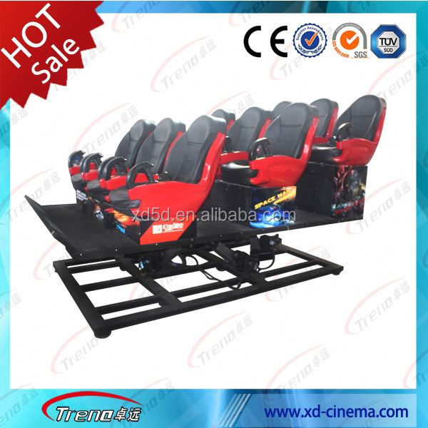 video game motion simulator 6 dof electric 5d cinema 7d cinema 9d cinema truck and trailer
