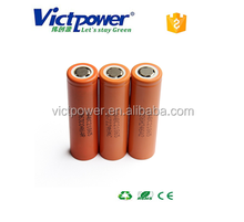 18650 size and li-ion type 3.7V ICR18650 C2 2800mah with LG Chem