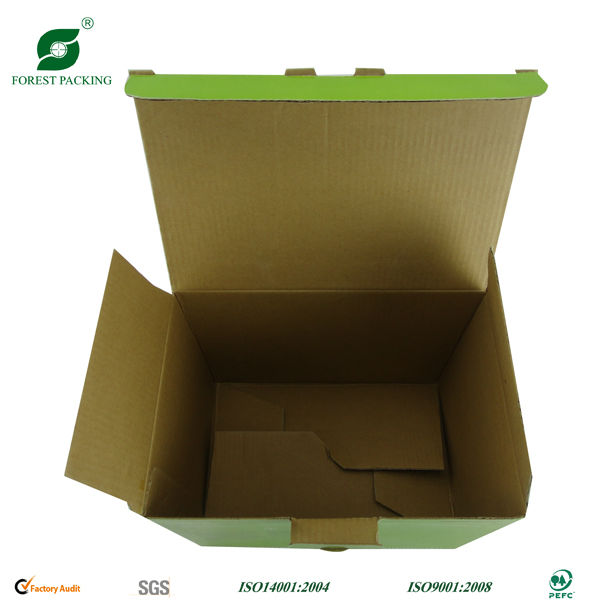 Removable hard disk packing box