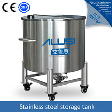 1000 liter drinking water stainless steel storage tank