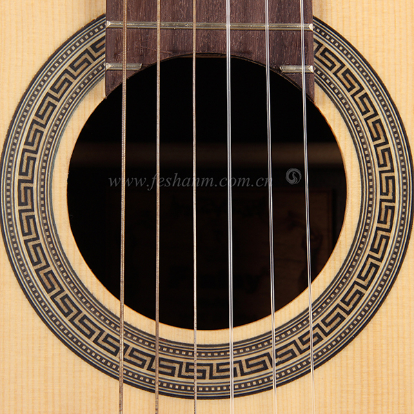 "39"" High Quality Solid Spruce Custom Acoustic Classical Guitar"