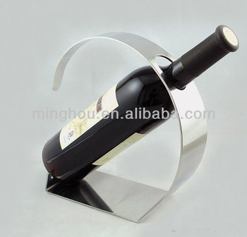 Factory round metal wine racks ,metal wine bottle holder