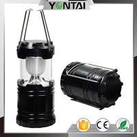 2015 New Portable Solar Charger Lantern LED Camping Lantern Rechargeable with Charging Calbe + USB port Hand Crank Light Lamp