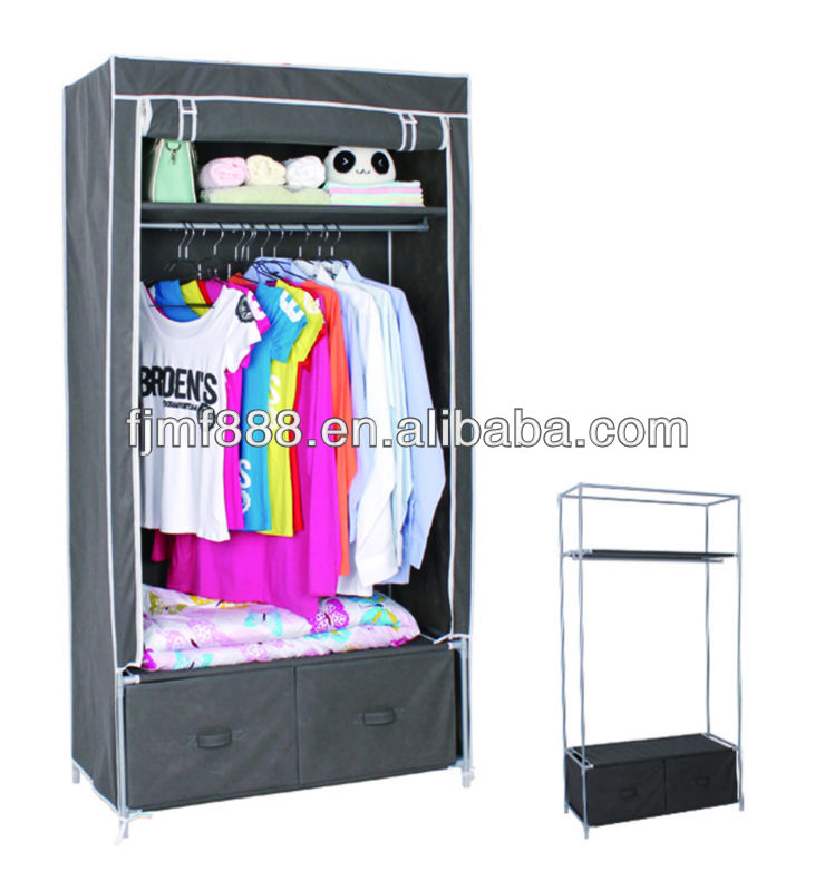 MF-99GC009 assembly kids wardrobe india with 2 drawers