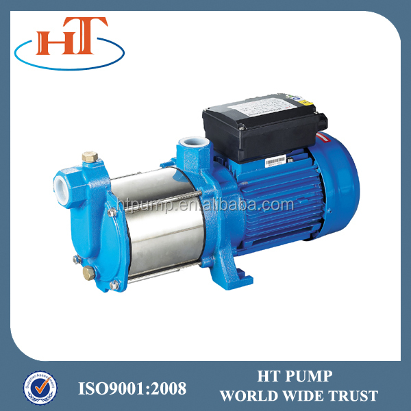 electric plastic impeller horizontal multistage centrifugal water pump specifications