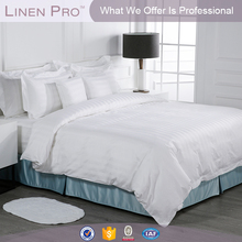 High quality cheap hotel/hospital housekeeping bed linen size of guangzhou