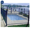 swimming pool fence, pool fence, black aluminum fence