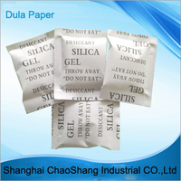 White Color and Protect From Moisture Damage Kind Silica Gel Desiccant Packaging Paper