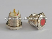 16mm momentary ring led door access push button switch door access with red cover