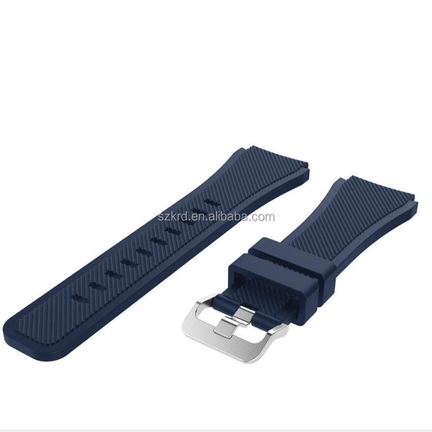 Fashion Sports Silicone Bracelet Watch Strap Band Replace For Samsung Gear S3 Classic S3 Frontier Smart Watches