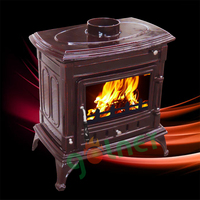 Z-M14E wood burning stove/enamel burning stove/cast iron indoor fireplace
