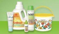 SunSmile and SunBright Household shampoo Products