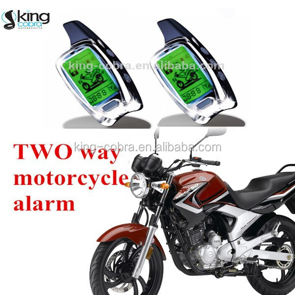 High Quality Two Way Motorcycle Alarm System with microwave