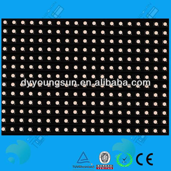 p6 full color led display board as seen on tv product