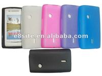 Matte TPU Gel Cover Case For Sony Ericsson Xperia X8 E15i