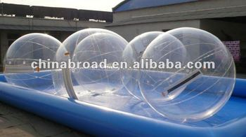 2012 hot-selling Inflatable Water Walking Ball Jumping on water