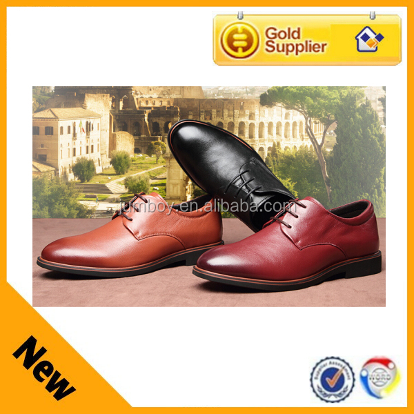 top grade European trendy Italy genuine leather leader shoes for men