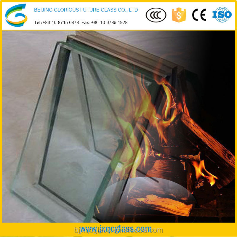 15mm low iron fireproof glass tempered glass for building