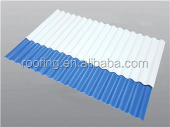 Best Selling Color Coated Galvanized roofing sheet Corrugated Heat Resistant PVC flexible plastic Roofing Sheet