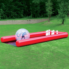 Inflatable human bowling game ,zorb ball for bowling,outdoor human bowling sport