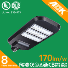 UL DLC 170lm/w Factory Main Products High performance Energy Saving Lamp Fluorescent Street Light with Competitive Offer
