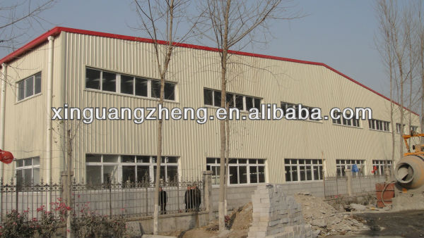 steel frame structure roofing portable warehouse building