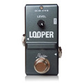 2017 super mini size guitar effects looper pedal guitar pedal loop with unlimited overdubs & 10 minutes recording time