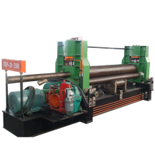 <strong>W11</strong>-16X3000 steel pinch rollers mechanical 3 roller <strong>plate</strong> rolling <strong>machine</strong> in hot sale