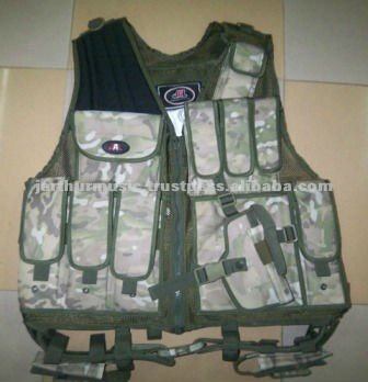 MultiCam Paintball Vest/ Tactical Vest