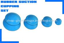 Rubber suction cupping set-4