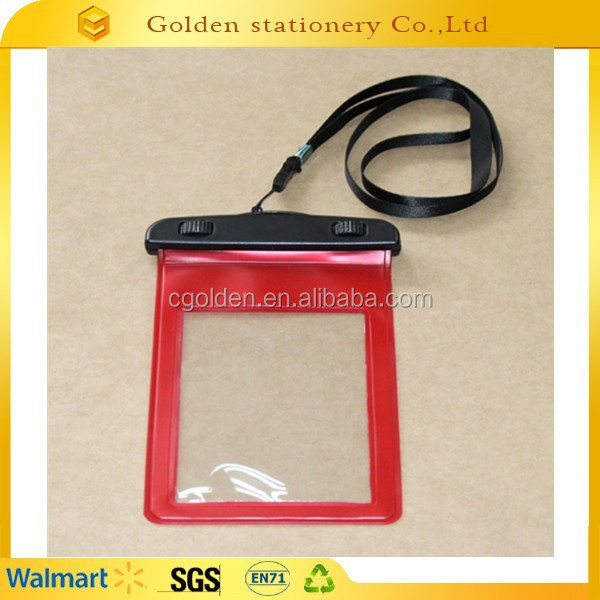 Promotional 100% eco friendly cellphone bag pvc waterproof phone bag