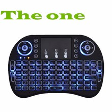 Wireless Keyboard Touch Pad Backlight Keybord i8 Air Mouse 2.4G Mini