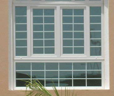 french casement window , prices aluminium fixed window with Grid