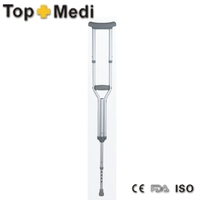 Rehabilitation Therapy Supplies TopMedi Walking Aids Series underarm crutch for disabled people Walking Cane