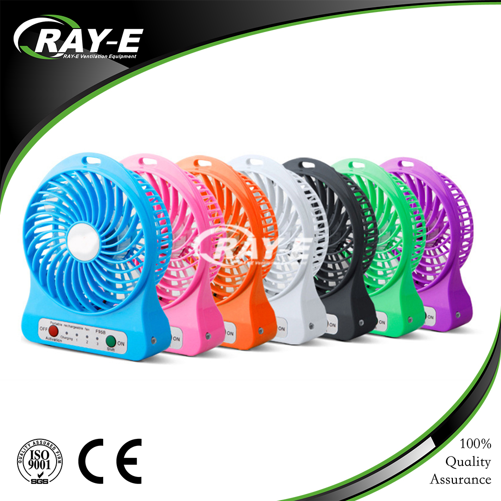 China supplier rechargeable mini usb standing fan