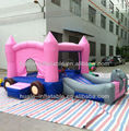 Huge Attractive juegos bouncy castle Inflatable Amusement Park