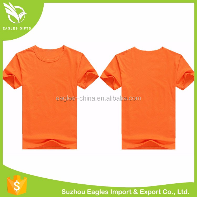 Wholesale Blank Bulk Color Custom Plain T-Shirts