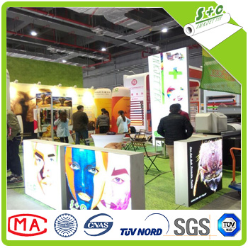 jiaxing sublimation printed fabric for led light box Mexico