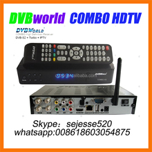 2016 New arrival V26 DVBWORLD combo hdtv satellite receiver for north america with jb200 tuner jyazbox v21 v16,v20 receiver