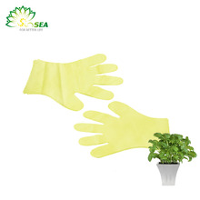New brand 2017 paper pe plastic gloves with better service