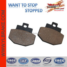Scooter brake pad for PIAGGIO/benelli motorcycles;brake pad for bajaj vespa spare parts;performance brake pad aftermarket