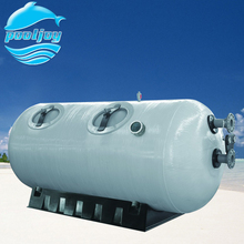 Horizontal aquaculture large Sand Filter