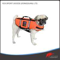 2016 Latest dog life jacket 20mm EPE foam dog ski jacket