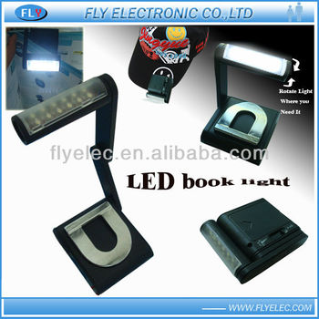 12LED rotatable Book light