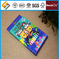 Top Quality Color Box Packing Jumbo Crayons Colour Pencil For Kids