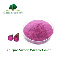Chinese dried purple sweet potato powder